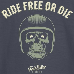 Ride free or die - Kids' Long Sleeve T-Shirt