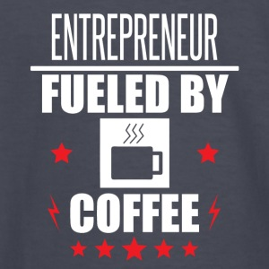 Entrepreneur Fueled By Coffee - Kids' Long Sleeve T-Shirt
