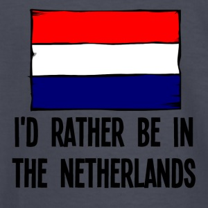 I'd Rather Be In the Netherlands - Kids' Long Sleeve T-Shirt