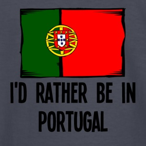 I'd Rather Be In Portugal - Kids' Long Sleeve T-Shirt