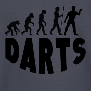 Darts Evolution - Kids' Long Sleeve T-Shirt
