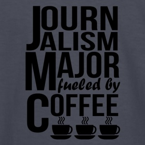 Journalism Major Fueled By Coffee - Kids' Long Sleeve T-Shirt