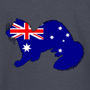 Australian Flag - Ferret - Kids' Long Sleeve T-Shirt