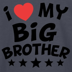 I Heart My Big Brother - Kids' Long Sleeve T-Shirt