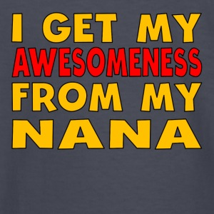 I Get My Awesomeness From My Nana - Kids' Long Sleeve T-Shirt