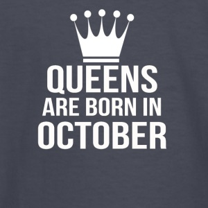 queens are born in october - Kids' Long Sleeve T-Shirt