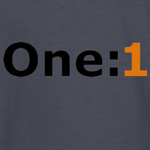 One:1 logo - Kids' Long Sleeve T-Shirt