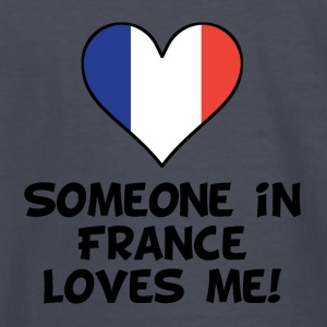 Someone In France Loves Me - Kids' Long Sleeve T-Shirt