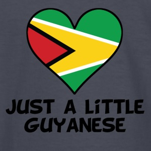 Just A Little Guyanese - Kids' Long Sleeve T-Shirt