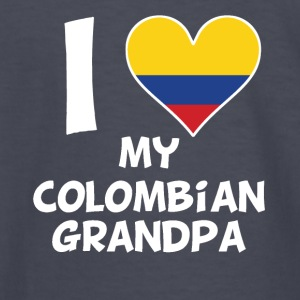 I Heart My Colombian Grandpa - Kids' Long Sleeve T-Shirt
