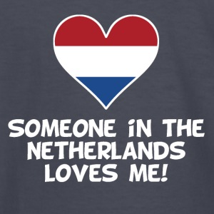 Someone In the Netherlands Loves Me - Kids' Long Sleeve T-Shirt