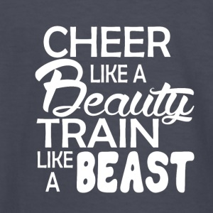 cheerleader Like a beauty - Kids' Long Sleeve T-Shirt