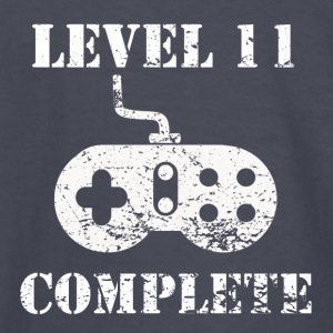 Level 11 Complete 11th Birthday - Kids' Long Sleeve T-Shirt