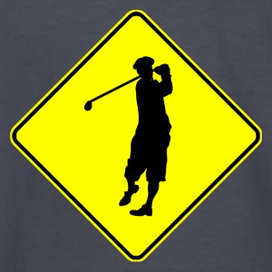 Golfer Crossing - Kids' Long Sleeve T-Shirt