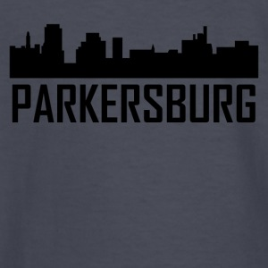 Parkersburg West Virginia City Skyline - Kids' Long Sleeve T-Shirt