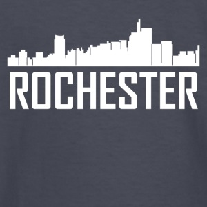 Rochester Michigan City Skyline - Kids' Long Sleeve T-Shirt