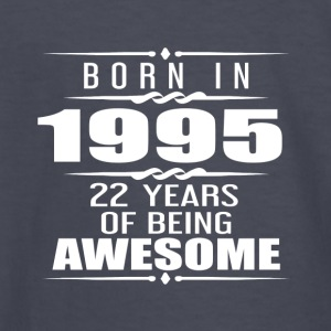 Born in 1955 22 Years of Being Awesome - Kids' Long Sleeve T-Shirt