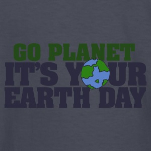 Go Planet It s your Earth Day - Kids' Long Sleeve T-Shirt