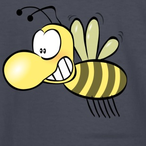 Funny Bee Smiling - Kids' Long Sleeve T-Shirt