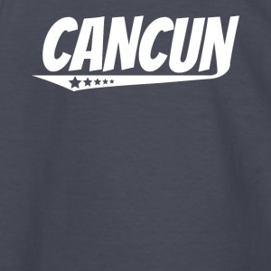 Cancun Retro Comic Book Style Logo - Kids' Long Sleeve T-Shirt