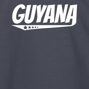Guyana Retro Comic Book Style Logo Guyanese - Kids' Long Sleeve T-Shirt