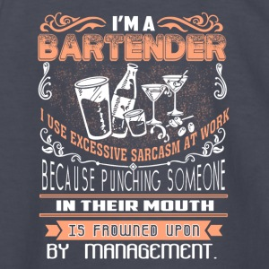 I'm Bartender T Shirt - Kids' Long Sleeve T-Shirt