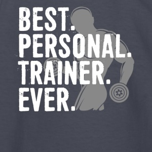 Best Personal Trainer Ever Health Fitness Tshirt - Kids' Long Sleeve T-Shirt