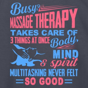 Massage Therapist Tee Shirt - Kids' Long Sleeve T-Shirt