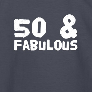 50 and fabulous - Kids' Long Sleeve T-Shirt