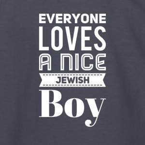 Everyone loves a nice jewish boy - Kids' Long Sleeve T-Shirt