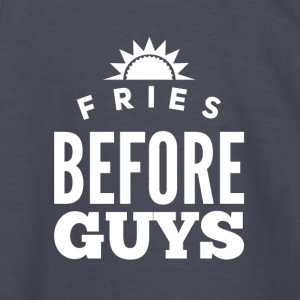 Fries before guys - Kids' Long Sleeve T-Shirt