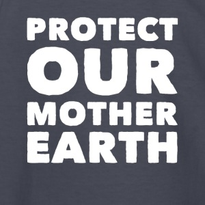 Global warming protect our mother earth - Kids' Long Sleeve T-Shirt