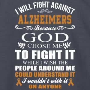I Will Fight Against Alzheimers - Kids' Long Sleeve T-Shirt