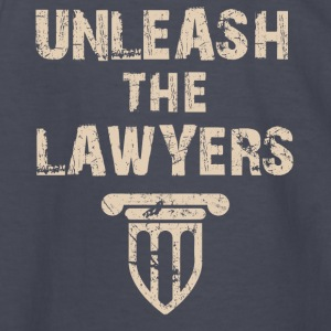 unleash the lawyers - Kids' Long Sleeve T-Shirt