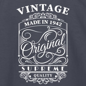 Vintage made in 1942 - Kids' Long Sleeve T-Shirt