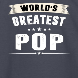 World s Greatest POP T-shirt - Kids' Long Sleeve T-Shirt