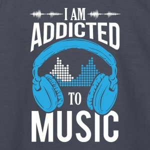 I Am Addicted To Music - Kids' Long Sleeve T-Shirt
