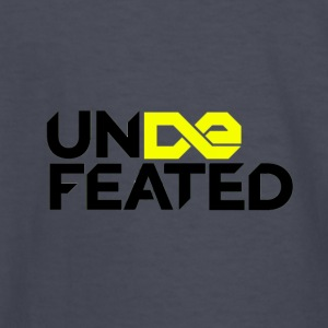 Undefeated (Jesus Fish) - Kids' Long Sleeve T-Shirt