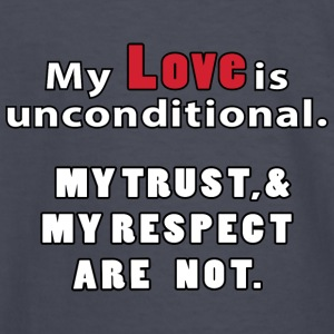 Unconditional Love - Kids' Long Sleeve T-Shirt