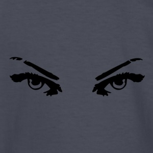GIRL POWER THE EYES OF A DETERMINED WOMAN - Kids' Long Sleeve T-Shirt