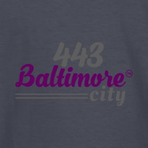 443 BALTIMORE CITY - Kids' Long Sleeve T-Shirt