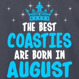 The Best Coasties Are Born In August - Kids' Long Sleeve T-Shirt