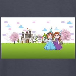 Heart Family Princesses! - Kids' Long Sleeve T-Shirt