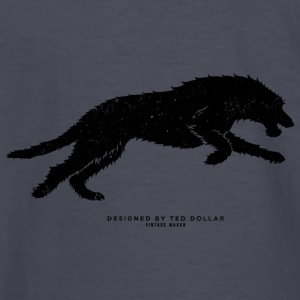 Running Wolfhound - Kids' Long Sleeve T-Shirt
