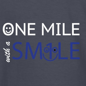 mile with a smile - Kids' Long Sleeve T-Shirt