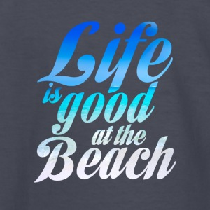 Life is good at the Beach - Kids' Long Sleeve T-Shirt
