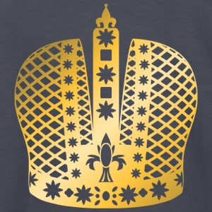 ornate-king-vip-crown-gold-golden-crown-royal-boss - Kids' Long Sleeve T-Shirt
