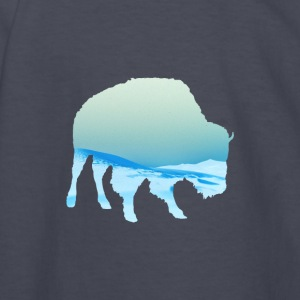 Bufalo Blue - Kids' Long Sleeve T-Shirt