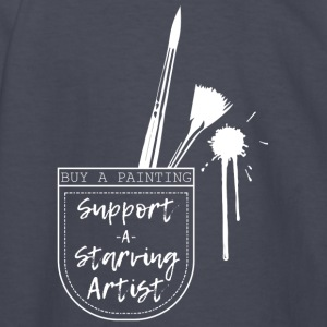 Support a Starving Artist - Kids' Long Sleeve T-Shirt