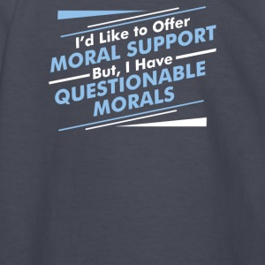 Moral Support - Kids' Long Sleeve T-Shirt